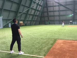 小林雅英野球教室