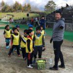 小林雅英 スクラム甲府第6回スポーツアカデミーに特別コーチとして参加
