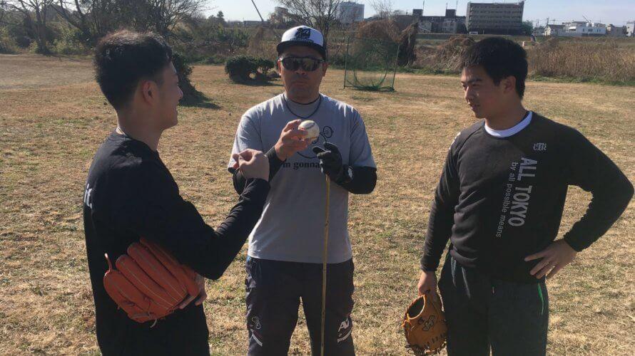 小林雅英2021年初の個人野球指導を実施